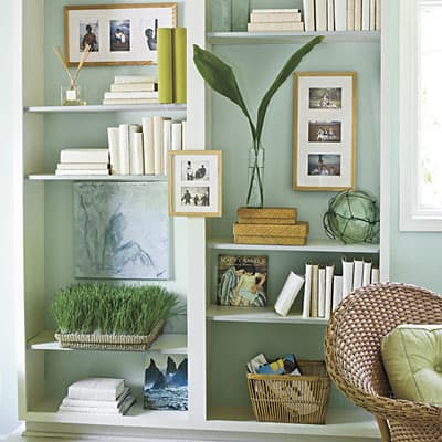 Bookcase makeover s+living