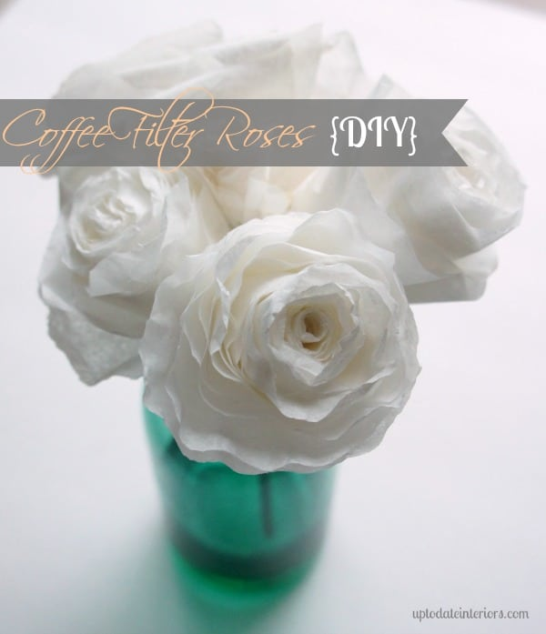 Easy Diy Coffee Filter Roses Try It Three Different Ways