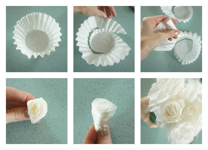 The Best Way To Make Coffee Filter Roses With Step By Step