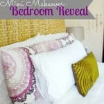Mini Makeover Bedroom Reveal