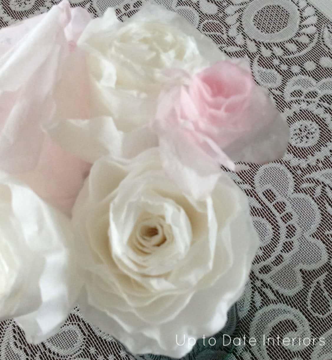 Rose watermark paper
