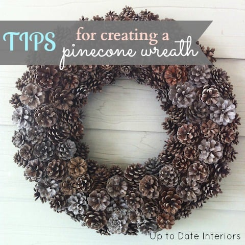 Easy tips for creating your diy pinecone wreath