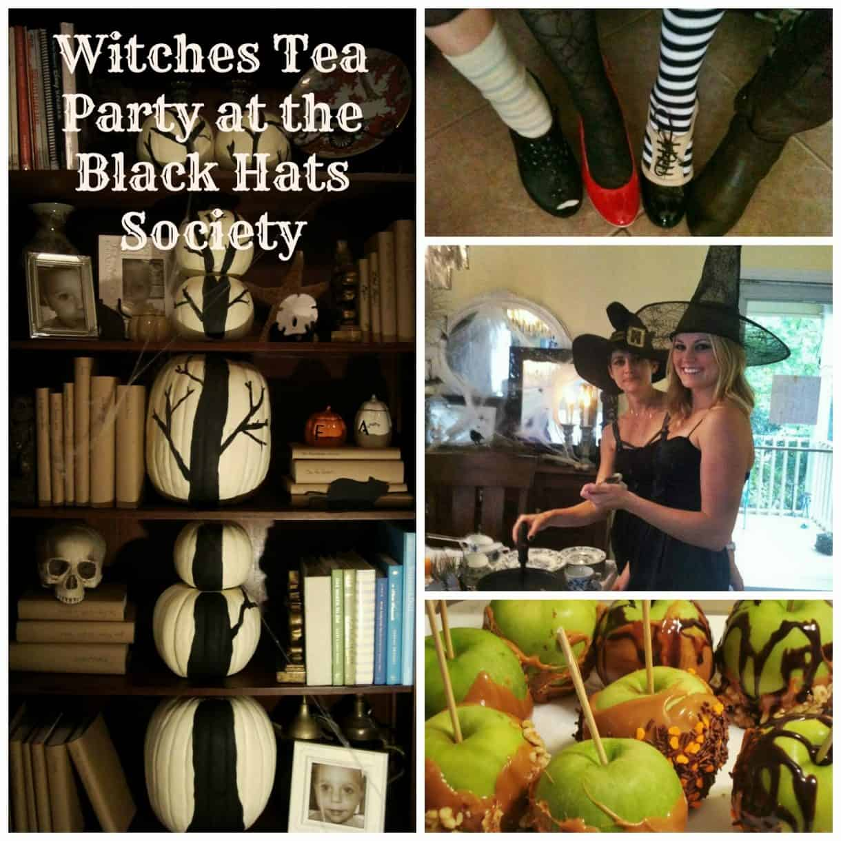 The Witch Themed Party: Witches Tea Party Decor And Invitation Inspiration