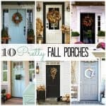 10 Pretty Fall Porches