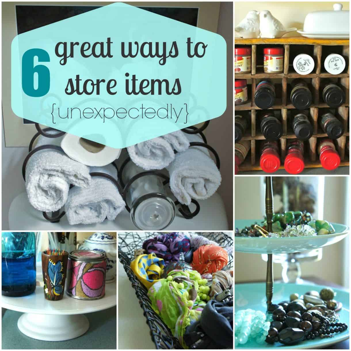 How To Organize, Store, And Display Items With Things You