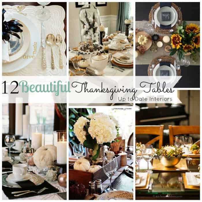 12 beautiful thanksgiving tables revisited up to date for How to set a round table for thanksgiving