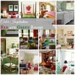 Wednesday Fun: Red and Green Rooms
