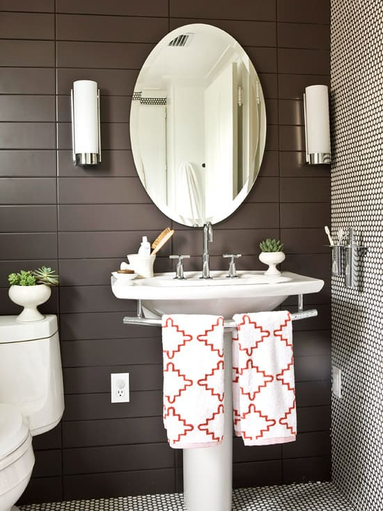 Love your space challenge tips for a well designed bathroom for Bathroom color ideas 2014