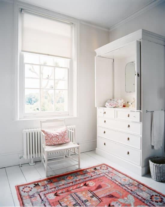 Oriental Rug In Bathroom2 Simply Smitten