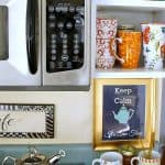 Love Your Space Challenge #11: Set Up a Tea/Coffee Station {free printable}