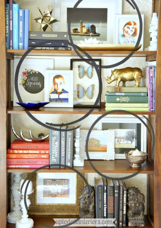 how to decorate your bookcase