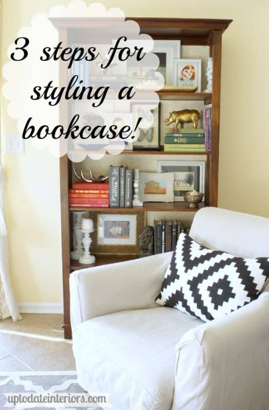 3 steps for styling a bookcase