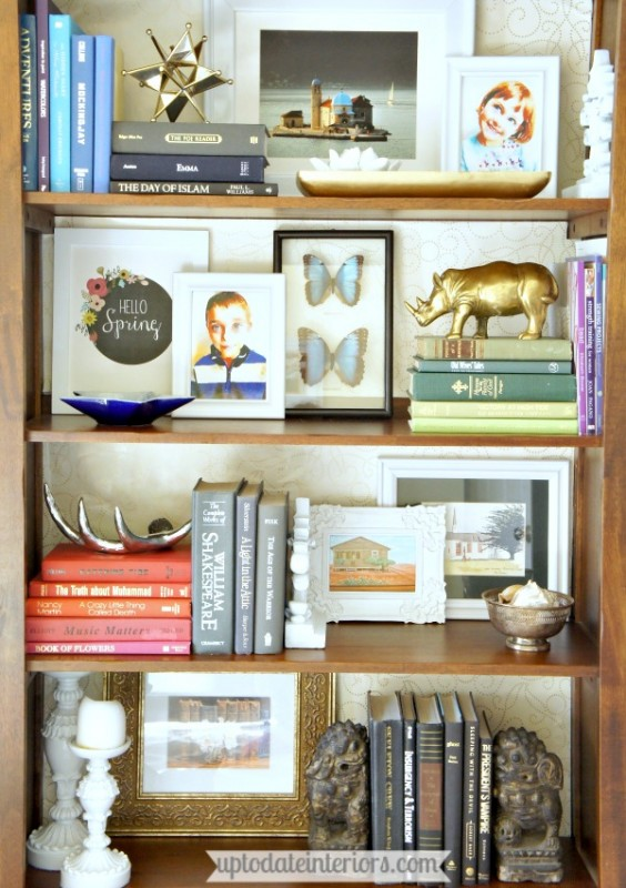 how to decorate your shelf