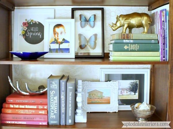decorate bookcase