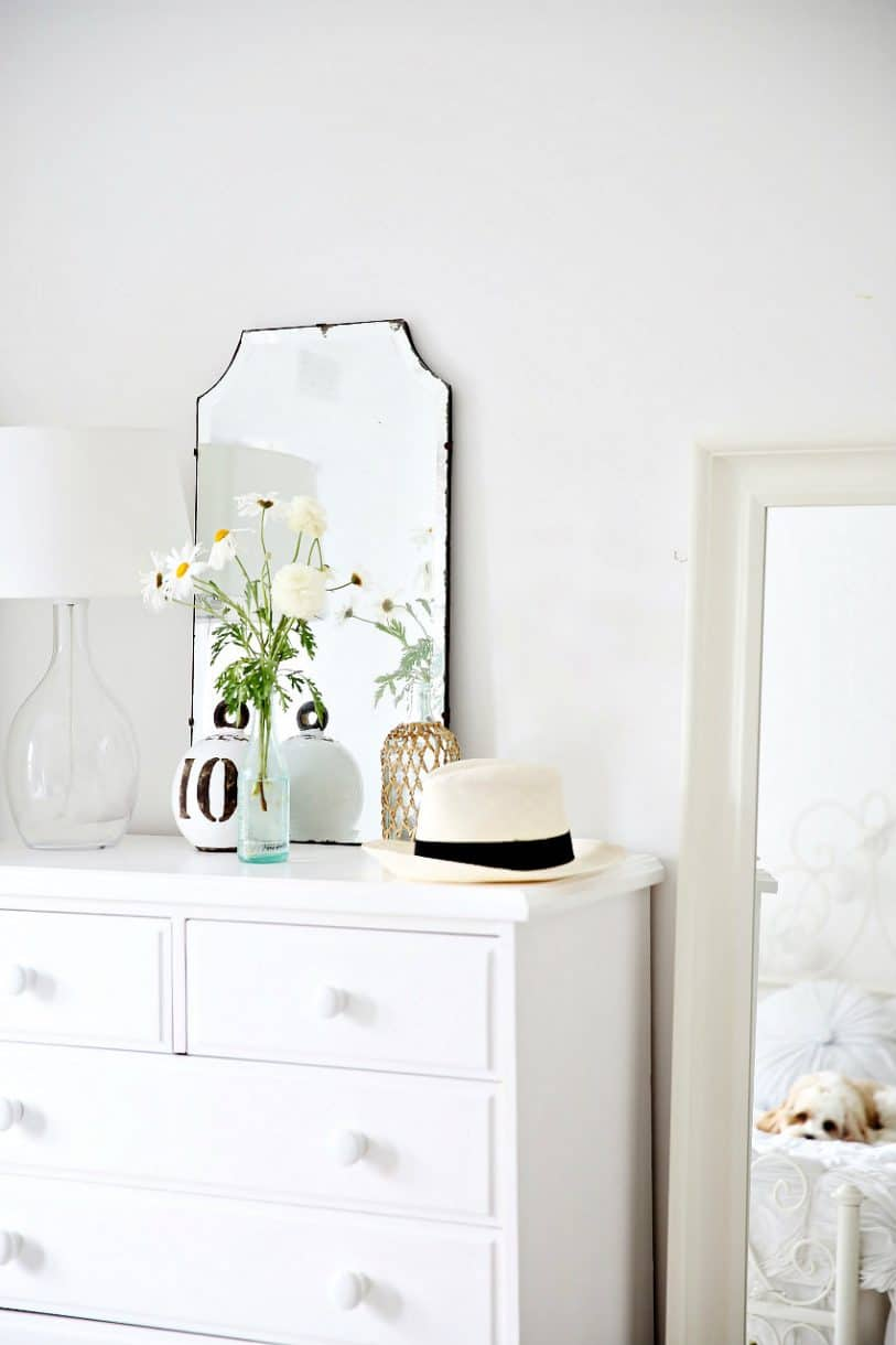 Create A Stylish Dresser Vignette Up To Date Interiors