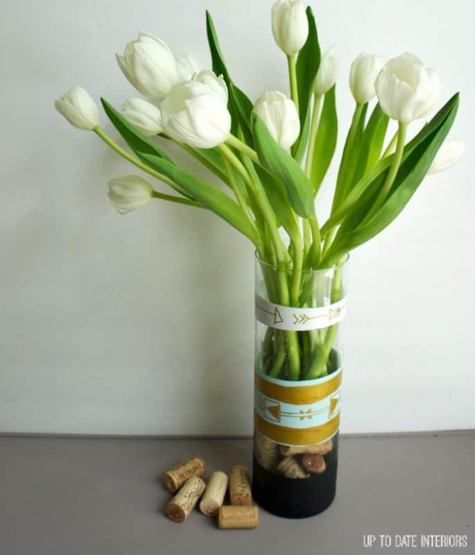 diy-vase-tulips