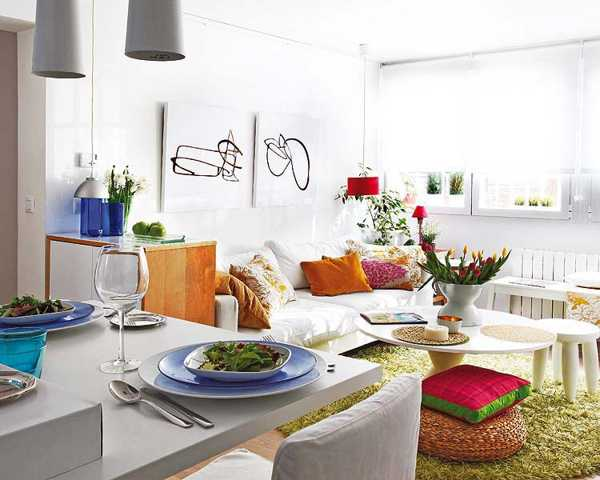 Small space decorating ideas up to date interiors - How decorate small apartment ...