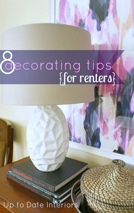 cheap decorating tips for renters