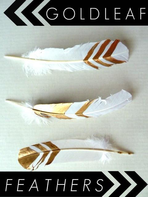 DIY-gold-leaf-feathers