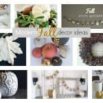 Modern Fall Decorating Ideas