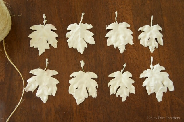 plaster-leaves-dry