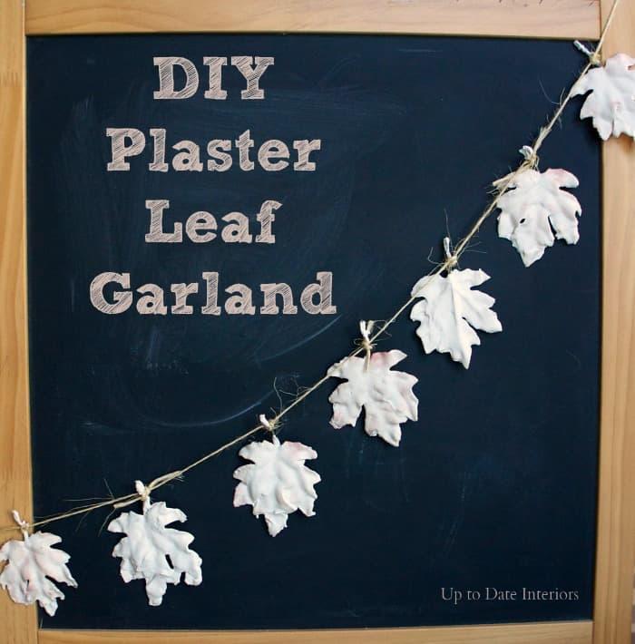 plaster-leaves-garland