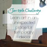 Love Your Space Challenge: Jan 29th