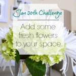 Love Your Space Challenge: Jan 30th