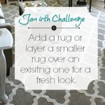 Love Your Space Challenge: Jan 4th