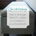 Love Your Space Challenge: Jan 17th
