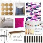 Bright and Fun Girl's Bedroom Inspiration