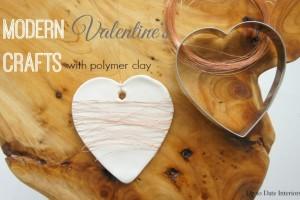 Modern Valentine's Decor