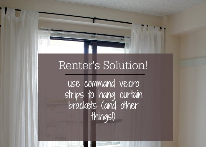 hang curtains without putting holes in the wall up to date interiors