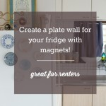 Plate Magnets {diy}