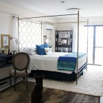Master Bedroom Update in Blue and White