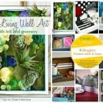 Faux Living Wall Art – Create and Share