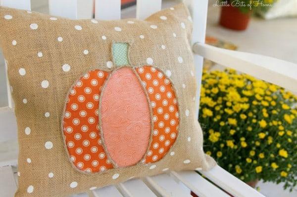pumpkin pillow done
