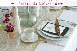 A Sweet and Simple Thanksgiving Table @ OTBM