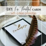 """DIY """"I'm Thankful"""" cards: Create and Share"""
