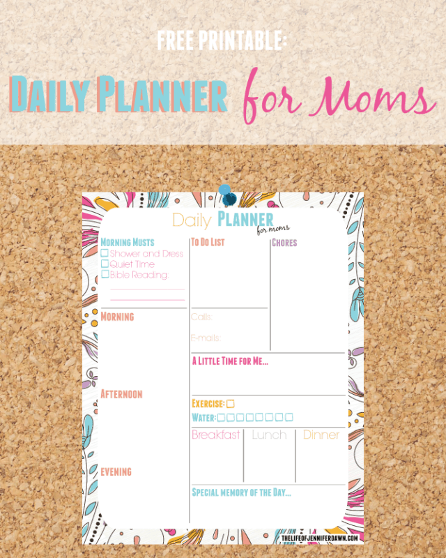 free printable planner for moms (1)