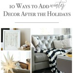 10 Ways to Decorate for Winter @ OTBM