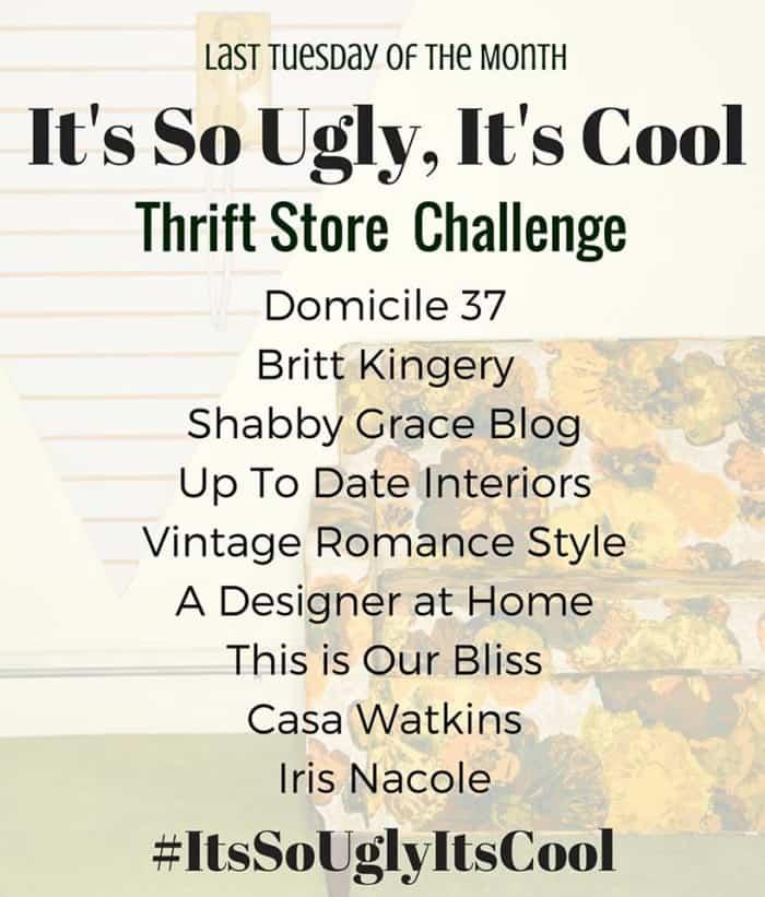 thrift store challenge