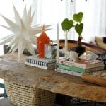 Sofa Table Styling and Blog Hop