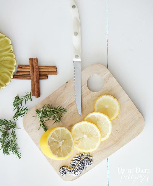DIY stovetop Spring scent