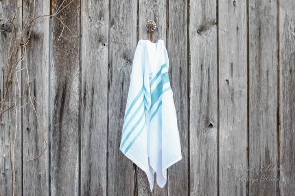 diy tea towels