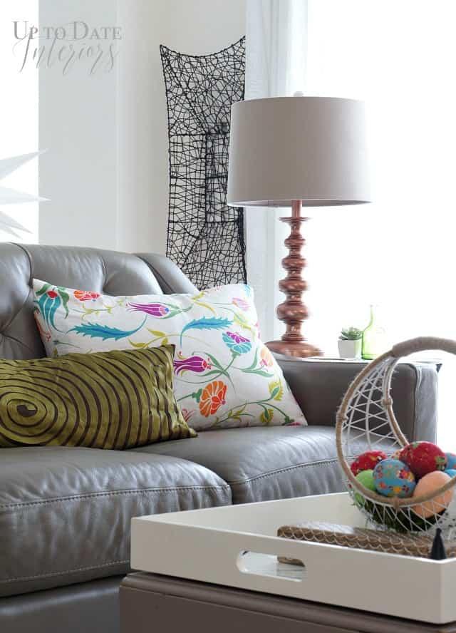 spring home tour bright living room