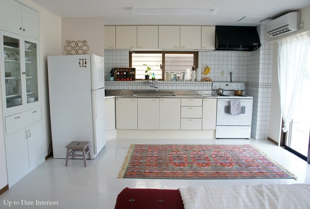 rental kitchen in Japan