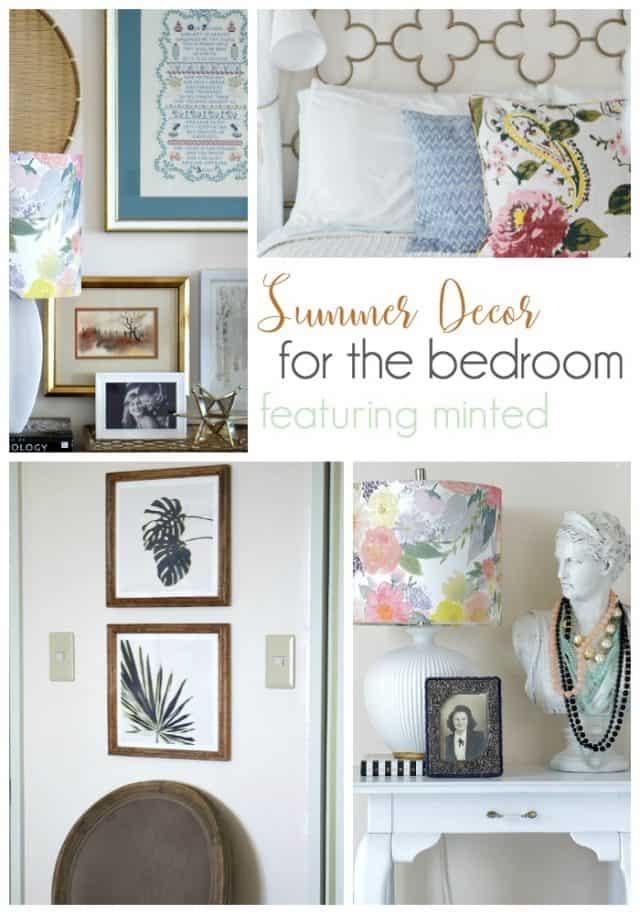 summer decor with minted