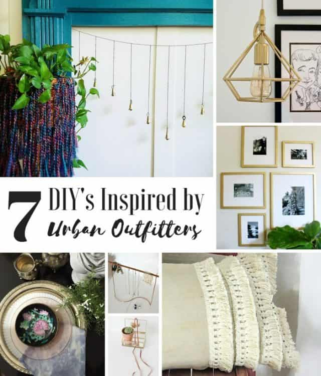 Inspired by DIY: UO Jewelry Stand