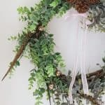 """Dollar Store"" Eucalyptus Wreath"